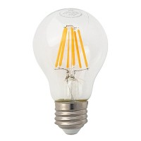 Green Watt LED vintage filament 7watt A19 Omni light bulb 2700K dimmable G-A19D7W27