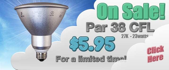 CFL Par 38 Sale